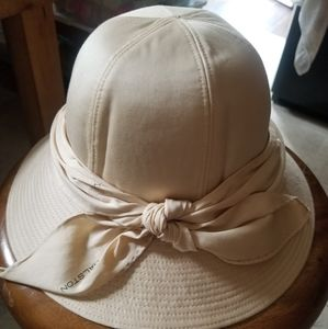 RARE HALSTON Vintage Silk Safari Hat